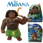 Disney Moana Singing Maui Action Figures Doll Kids Figurines Toy Fishhook Gift