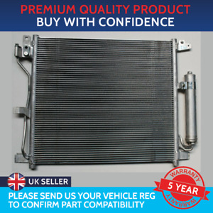 CONDENSER AIR CON RADIATOR TO FIT NISSAN JUKE F15 2010 TO 2019 1.5 dCi DIESEL