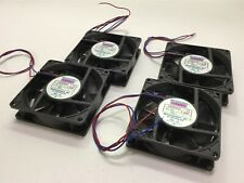Lot of 4 Mechatronics E9225S24B Cooling/Circulating Fans, Voltage: 24VDC, 0.06A