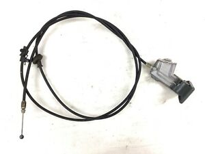 99-04 Odyssey Wire Hood Latch Lock Release Cable Assy Green Lever Handle OEM