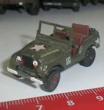 069 SPECIAL U.S.ARMY JEEP MILITAIRE ROCO WILLIS USA ECHELLE 1:87 HO OCCASION