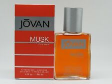 Jovan Musk By Coty Men 4.0 OZ 120 ML After Shave / Cologne Splash New In Box