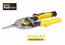 Stanley 214563 FatMax Aviation Snips, Straight Cut 250mm Tin Snips/Shears
