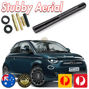 Antenna / Aerial Stubby Bee Sting for Fiat Black Carbon 12CM