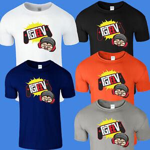 Fgteev Kids Boy Girl Tshirt Funnel Vision Gurkey Family Gaming Team Gift Tee Top