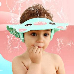 Kids Baby Adjustable Soft Waterproof Shield Shampoo Shower Bath Hat Cap Children