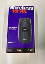 New listing Metro Pcs Lg 450 Gsm Flip Phone Cellphone Lgms450