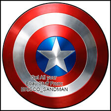 "Fridge Fun Refrigerator Magnet CAPTAIN AMERICA ""SHIELD-B"" DIE-CUT Avengers Comic"