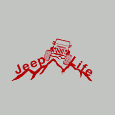 Jeep Life Decal Vinyl Sticker Car Window Truck Laptop,Jeep Sticker Car Decal