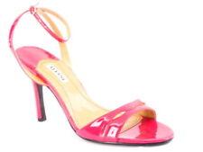 New ALFANI Women Pink High Heel Open Toe Ankle Strap Slingback Sandal Shoe Sz 9
