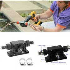 Mini Pumps Hand Electric Drill Drive Self Priming Pump Oil Fluid Water Transfer