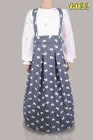 Girls Modest Dress// Abaya// Jilbab//  Ages  5-6,7-8,9-10,11-12,13-14 years old