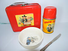 Hopalong Cassidy Group 1950 Lunchbox, Cowboy Set! Great Condition