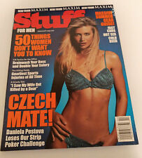 Stuff Magazine Issue 2 Daniela Pestova Charisma Carpenter