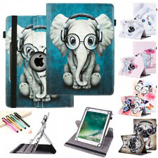 For Huawei MediaPad T3/T5/M5/M3 10 Tablet Universal PU Leather Stand Case Cover