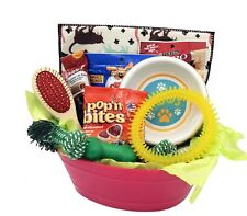 Dogs care Package Puppy Gift Basket Toys Treats Set