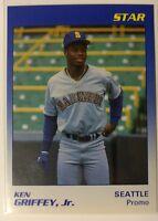 ($40) 1990 STAR Ken Griffey Jr. SP BLUE PROMO w/ BLANK BACK - *RARE* HOT $$$