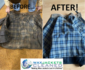 Cleaning / Re-waxing / Alteration Services for Waxed Coats Any Make Any Model