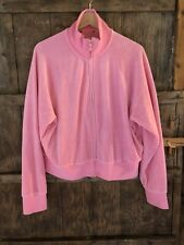 Juicy Couture Pink Track Top Uk L