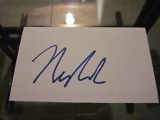 Alexander Nylander Signed Autographed 3X5 Index Card-Sabres