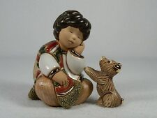 Rinconada De Rosa Doll Collection 'Tijuana Blues' Boy With Dog 2Pc NEW #G14 NIB