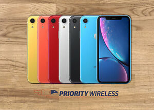 Apple iPhone XR 64/128/256GB A1984 A2105 AT&T T-Mobile Verizon Xfinity Unlocked