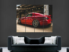 Cartel de coche Honda S2000 Rojo sintonizado Sport Pared Arte Impresión
