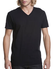 Next Level Mens Ultra Soft Premium Fit Short Sleeve V Neck T-Shirt M-N3200