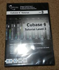 Ask Video Cubase 6 Tutorial Level 3 (DVD, 2011) 37 videos; over 3 hours **NEW**