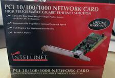 Gigabit PCI Network Card  Intellinet Model Number 522328