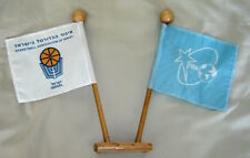 FIBA - ISRAEL BASKETBALL ASSOCIATION OFFICIAL SMALL CONFERENCE FLAG DUO