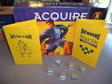 ACQUIRE Game Wild Tile Kit (1999 Edition) KIT ONLY W/Lloyd's Rules of ACQUIRE
