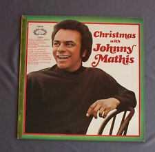 "Vinilo LP 12"" 33 rpm CHRISTMAS WITH JOHNNY MATHIS"