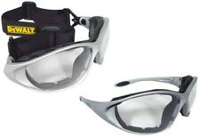 DEWALT DPG95-1D Framework Clear Lens Padded Safety Glasses Goggles NEW