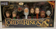 LIMITED EDITION  LORD OF THE RINGS EYE OF SAURON PEZ COLLECTOR SET NEVER OPENED