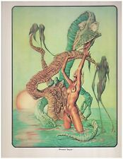 Kenneth R. Smith  4 Color Art Prints 11 x 14 Fantasy Science Fiction Portfolio S