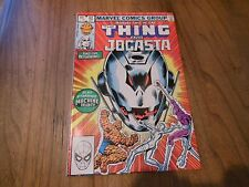 Marvel Two in One # 92 (1st Series 1974, Bronze Age) Thing with Jocasta Ultron