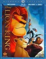 The Lion King *New* w/Slip Cover(Blu-ray/DVD, 2011, 2-Disc Set, Diamond Edition)