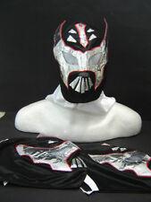 LOT of 3 SIN CARA BLACK WRESTLING MASKS KIDS niños wrestler lucha libre