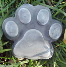 Gostatue simple plain pawprint plastic mold dog cat paw mould