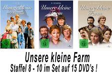 15 DVDs * UNSERE KLEINE FARM  ~ SEASON / STAFFEL 8 - 10 # NEU OVP +