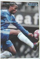 Didier Drogba: edición Limitada Postal-Barclays 2010-Chelsea