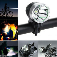 3000 Lumen XML T6 USB Interface 3Mode LED Bike Bicycle Light Headlamp Headlight