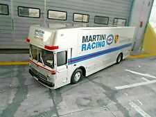 MERCEDES BENZ O317 PORSCHE Renntransporter Racing 917 LKW Martini Schuco 1:43