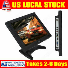 10'' 800X600 TFT HDMI BNC Color Monitor Screen for PC Security CCTV Camera USA