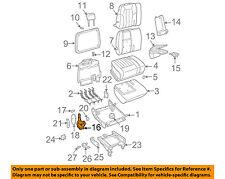 GM OEM Rear Seat-Recliner Hinge Bracket Left 88895037