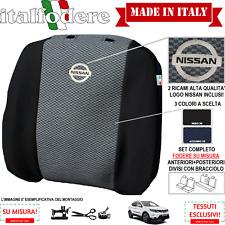 FODERE COPRISEDILI Nissan JUKE SU MISURA! Con Loghi Foderine Complete VariColori