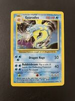 Gyarados 6/102 Pokemon Card Base Set Unlimited Rare Near Mint Holo