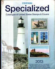 Scott United States (Us) Specialized Catalog of Us Stamps & Covers 2013 - used