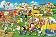 EPOCH SNOOPY Peanuts Wagon shop 1000 pieces Jigsaw puzzle 11-585s 4977389115853